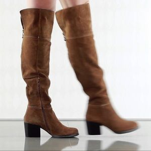 Aldo Over the Knee distressed boots